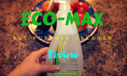 Canadian Made Eco-max all purpose cleaner review