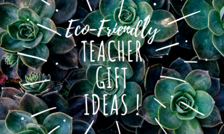 The BEST Eco-friendly Teacher Gift Ideas