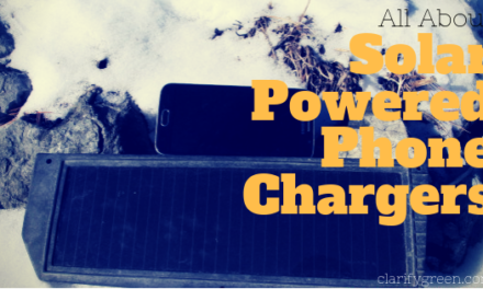 How do solar cell phone chargers work?