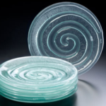 recycled glassworks side plates