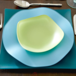 vivaterra sea glass dinnerware