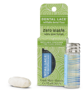 dental lace refillable floss