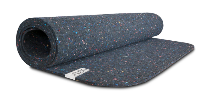 suga recycled wetsuit yoga mat