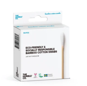 the humble co. bamboo cotton swabs