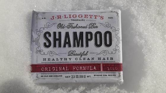 J.R. Liggett's original shampoo bar