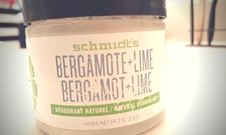 Schmidt's Bergamot + Lime Jar Deodorant Review