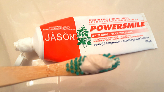 JASON Powersmile Whitening Natural Toothpaste Review
