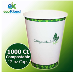 eco kloud disposable cup