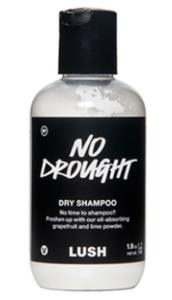 lush dry shampoo