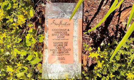 SheaMoisture Coconut & Hibiscus Shea Butter Bar Soap Review