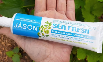 JASON Sea Fresh Toothpaste Review