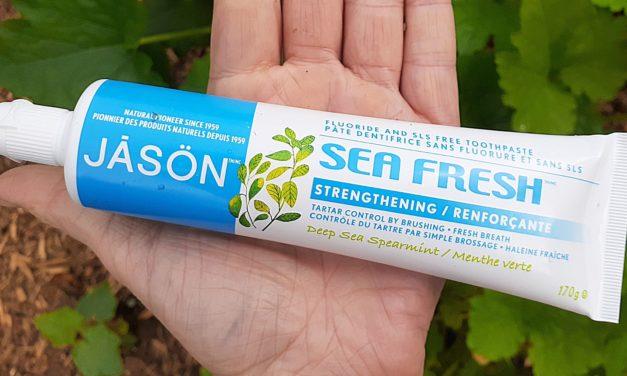 JASON Sea Fresh Toothpaste Review