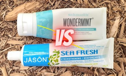 Schmidt's Wondermint VS Jason Sea Fresh Toothpaste